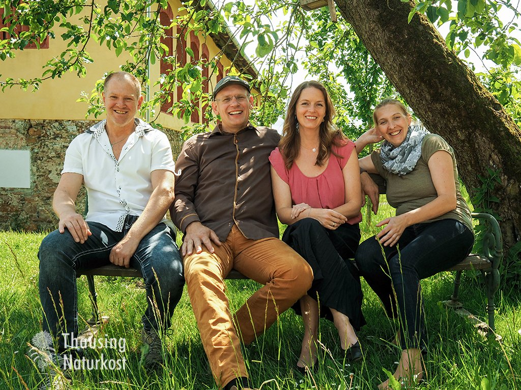 Familie Björn und Cornelia Thausing